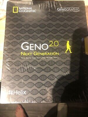 National Geographic DNA Test Kit: Geno 2.0 Next Generation - Powered by Helix