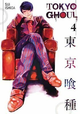Tokyo Ghoul, Vol. 4 by Sui Ishida 9781421580395 | Brand New | Free UK Shipping