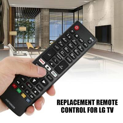 Replacement Remote Control for LG Smart TV AKB75095308 with Netflix Amazon Keys