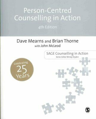 Person-Centred Counselling in Action by Brian Thorne 9781446252536 | Brand New