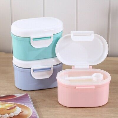 Baby Milk Powder Storage Box Sealed Large Capacity Food Biscuits Container Pot