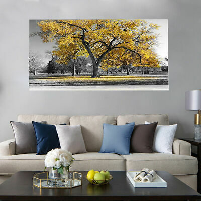 Large Tree Leaves Nature Pictures Print Canvas Wall Art Prints Home Art Deco NEW