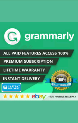 Grammarly Premium Account - Lifetime Warranty | 🔥Hot Item Limited: Be Quick 🔥