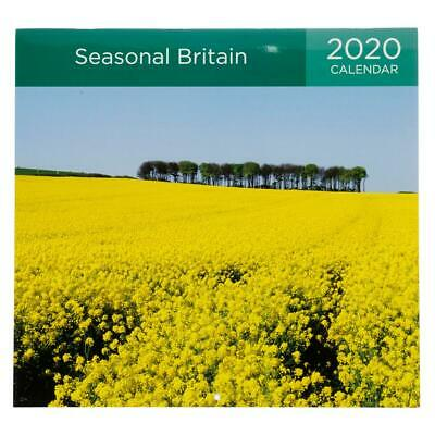 Whsmith 2020 Seasonal Britain Month to View Calendar With Collection Images