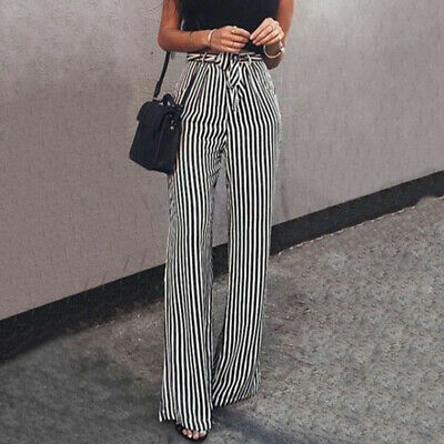 Trousers Pants Women Ladies Girls Casual Summer Spring High Waist Fashion