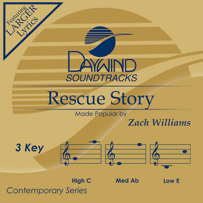Zach Williams  -  Rescue Story  -   Accompaniment / Performance Track - New