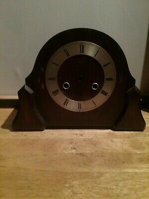 Mantel Clock Casing For Spares Repairs  With Face