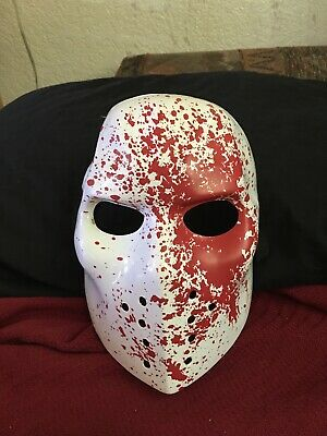 Halloween Mask Adult (Jason) Friday The 13th Plastic (Breathable)