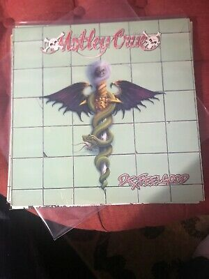 Motley Crue Dr. Feelgood LP VG Original US Pressing
