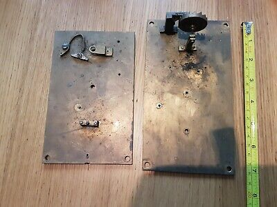 Antique Verge Escapement Spares Includeing Crown Wheel. Spares
