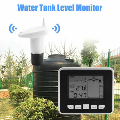 Set Transmitter Wireless Ultrasonic Replacement Thermometer Level Gauge