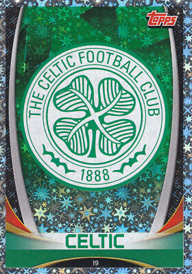 TOPPS MATCH ATTAX SPFL 2019-20 - Club Badge - Celtic - # 19