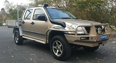 2006 Holden Ra Rodeo 3.0L Turbo Diesel 4X4 Manual Dual Cab Tray Ute..hilux