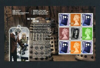 GB 2013 Booklet pane DR WHO  SG U3072a  MNH / UMM FV£4.02