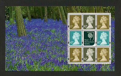 GB 2004 Booklet pane GLORY OF THE GARDEN  SG 1668p  MNH / UMM FV£4.58