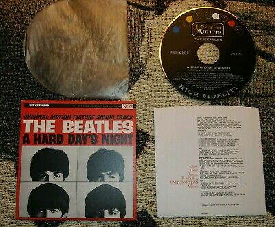 THE BEATLES - A Hard Day's Night CD! Stereo&Mono 24 Tracks U.S Box Set Version!