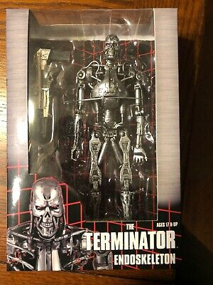 "The Terminator T- 800 Endoskeleton 7"" Action Figure Neca New in box"