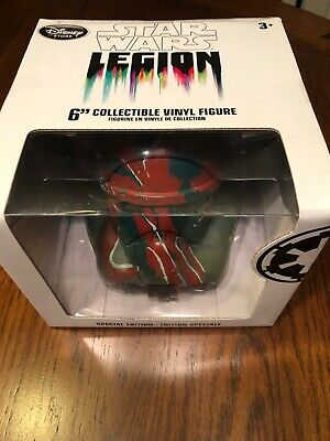 Disney Store Star Wars Boba Fett Legion Helmet Special Edition 6'' Force NEW
