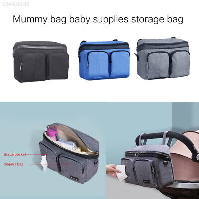 7BB4 Color Travel Hanging Carriage Nursing Stroller Shopping Nappy Bag