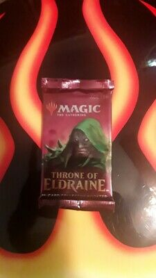 MTG THRONE of ELDRAINE 15-Card Collector Booster Pack 2019 Magic Gathering NEW