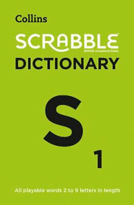 NEW Collins Scrabble Dictionary : Fifth Edition By Collins Dictionaries Paperbac