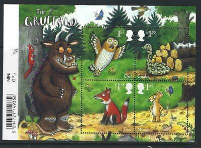 Great Britain 2019 The Gruffalo Barcoded Miniature Sheet Unmounted Mint, Mnh
