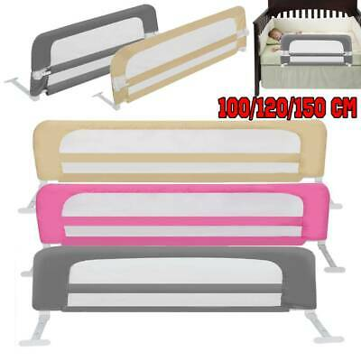 Toddler Child Kids Safety Bedguard Folding Infant Baby Bed Rail Protection Gate