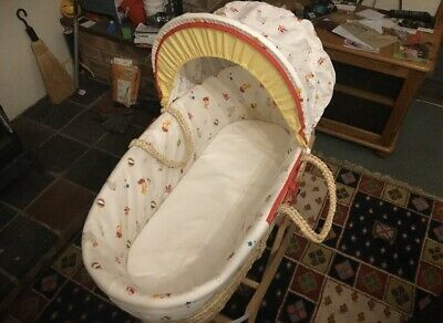 Moses basket with  stand  and cover