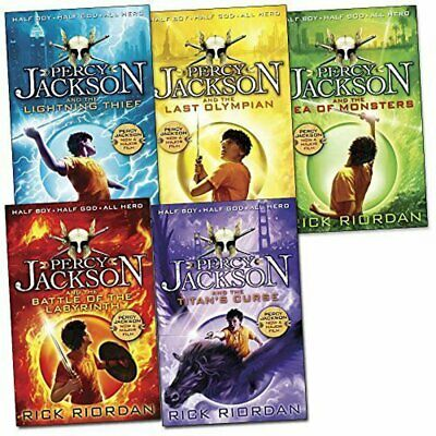 Percy Jackson Book Collection - 5 Books by