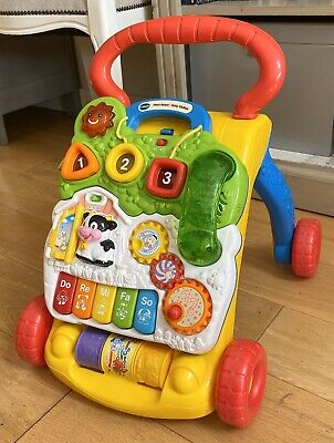 VTECH Baby First Steps Baby Walker with Phone! Removable Activity Centre & Legs