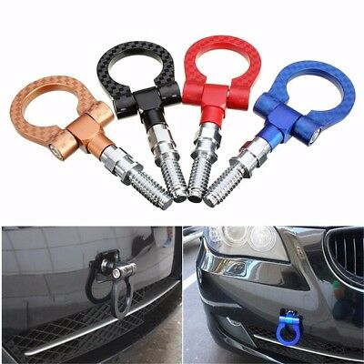 For BMW European Car Auto Trailer Hook Eye Tow Towing Racing Front Rear 4