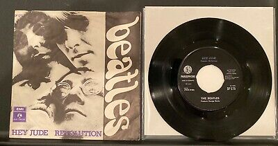 The Beatles 1968 Hey Jude/Revolution Rare 1st Press w/ Sleeve DENMARK