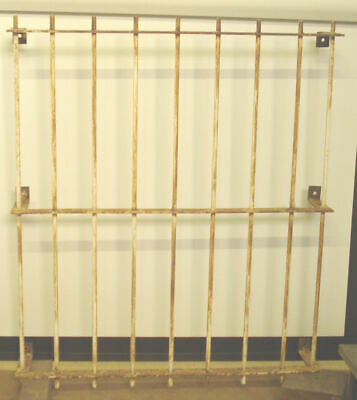 Very Solid Window Security Grille Bars for Home Garage Office Need Re-Painting