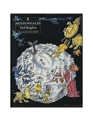 Moon-Whales by Hughes Ted Hardback Book The Fast Free Shipping