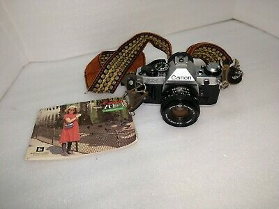Canon AE-1 Program Camera Outfit with FD 50mm F/1.8 Lens - Great Condition