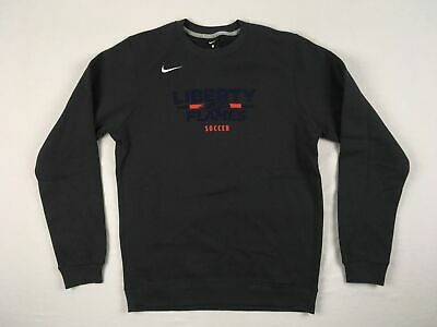 NEW Nike Liberty Flames - Men's Dark Gray Dri-Fit Sweatshirt (Multiple Sizes)