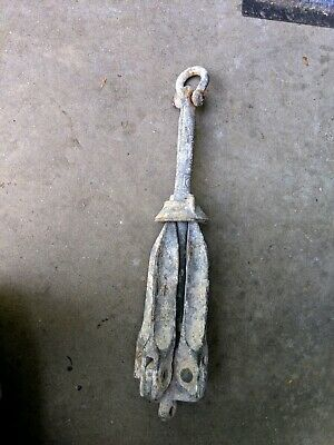 Vintage Norway Co. Folding Boat Anchor