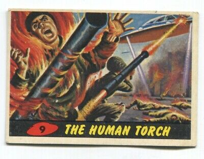 1962 Topps Mars Attack #9 The Human Torch EX