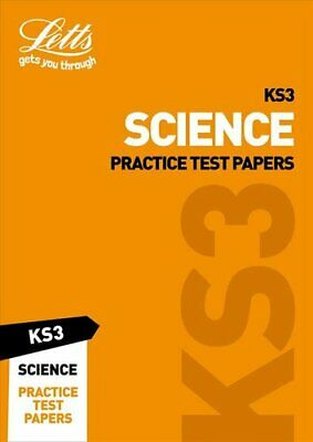 KS3 Science Practice Test Papers by Letts KS3 9780008299194 | Brand New