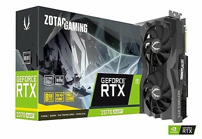 ZOTAC Gaming GeForce RTX 2070 Super Mini 8GB GDDR6 256-Bit 14Gbps Gaming Graphic