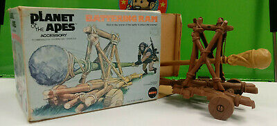 Planet of the Apes Battering Ram with Box Mego rare vintage accessory 5001