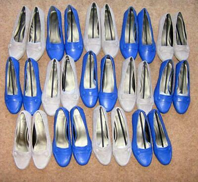 Wholesale Job Lot Joblot New Ladies Wedge Loafers Shoes x 14