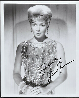 Lana Turner Signed Autographed B&W Picture Headshot - the Melchior Collection
