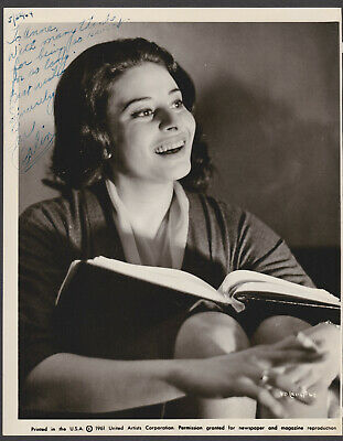 Ina Balin Signed Autographed B&W Picture Headshot - the Melchior Collection