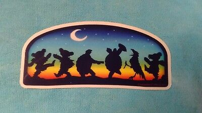 Grateful Dead Terrapin Crow Dancing Bear Moondance MINI 1.5 x 3 Inch Sticker