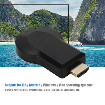 Wireless 1080P HD WiFi Full HDMI TV Stick AnyCast Mirror DLNA cast Airplay