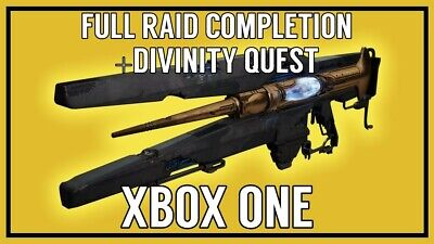 Destiny 2 - Garden of Salvation Full Raid Clear + Divinity Quest Xbox One