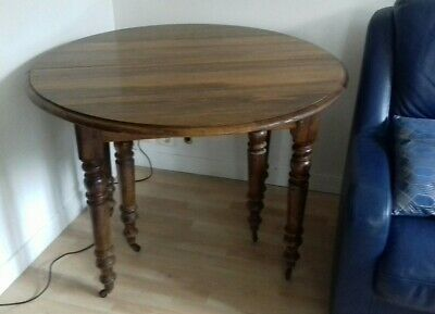 Table Louis Philippe Noyer 6 Pieds