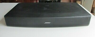 Bose Solo Tv Sound System Model 410376 with Remote & Cables