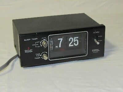 Copal Flip Clock Timer. MG-111 Works Great. Made in Japan. FAST FREE SHIPPING.